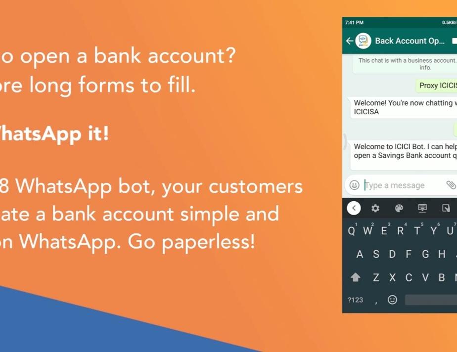 whatsapp chatbot